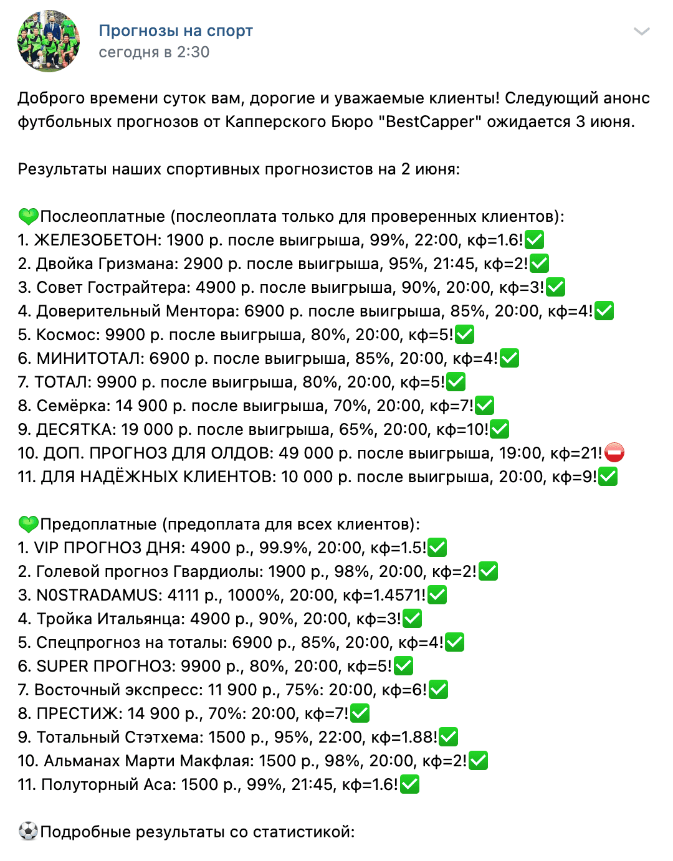 Статистика прогнозов Эдуарда Кварацхелия Bestcapper(Бесткаппер)