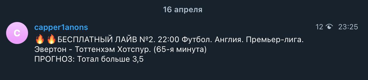 Прогнозы от каппера  Capper1 ru(Каппер1)