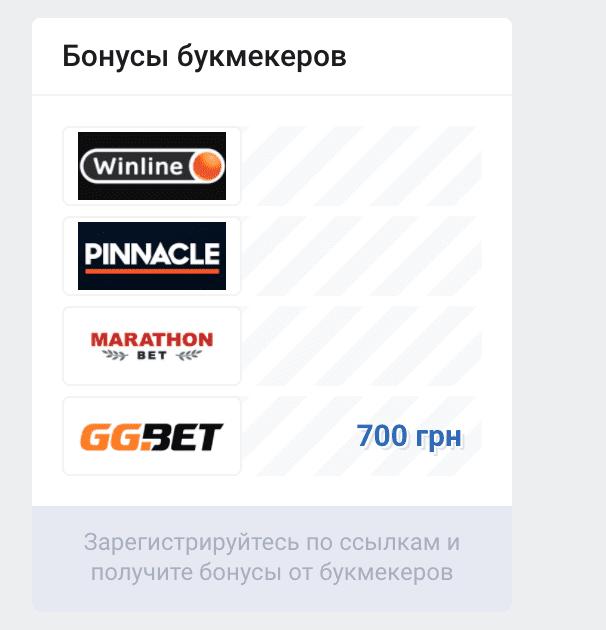 Реклама БК Vprognoze.ru (Впрогнозе)