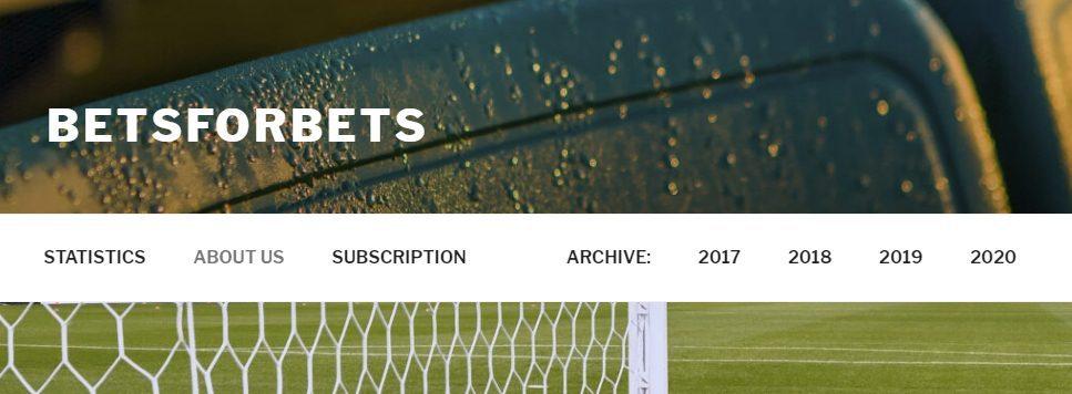 Главная страница сайта Betsforbets.com(Бет Фор Бет)