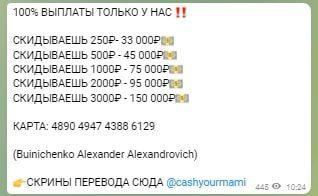 Условия по сотрудничеству с каналом Александра Буйниченко